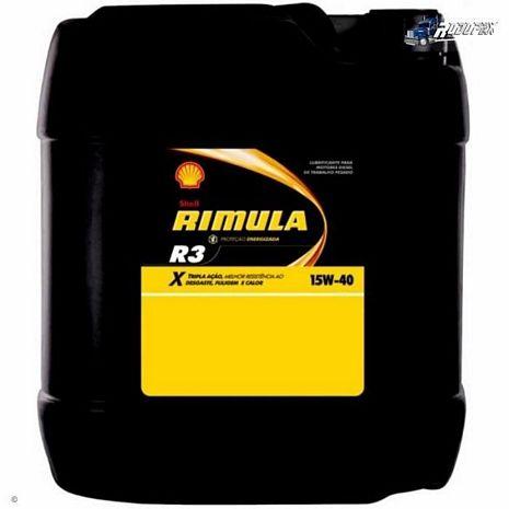 OLEO SHELL RÍMULA-X R3 15W40 20 LITROS