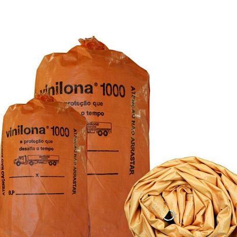 VINILONA 1000 13,50 X 3,50 MT LARANJA E PRETA