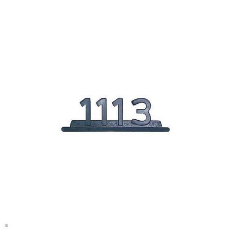 EMBLEMA PLASTICO CROMADO MB 1113