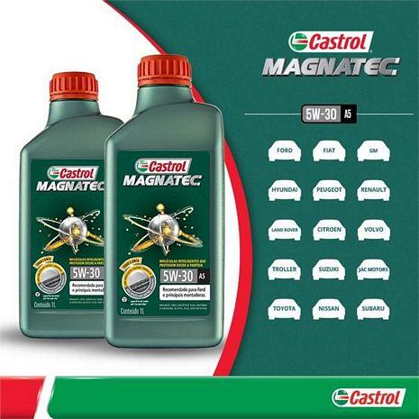 OLEO CASTROL SINTETICO MAGNATEC 5W30 1 L.