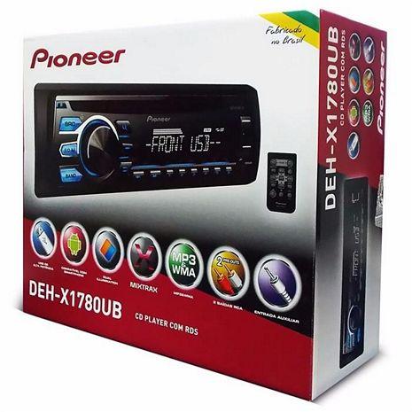 CD MP3 PLAYER PIONEER DAH-X1780UB MIXTRAX