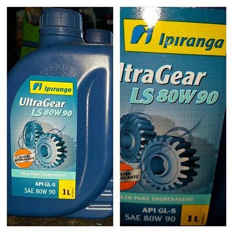 OLEO IPIRANGA ULTRAGEAR LS 80W90 1 L.