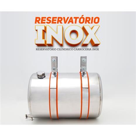 RESERVATORIO CILINDRICO CARROCERIA (COROTE) INOX 30 LTS