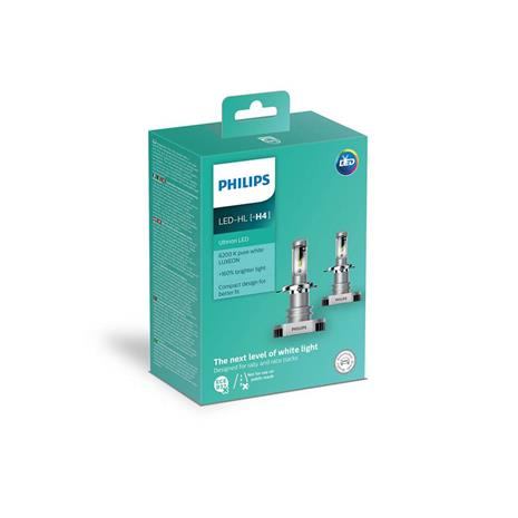 LAMPADA AUTO LED H4 11342 ULW 2 UN PHILIPS